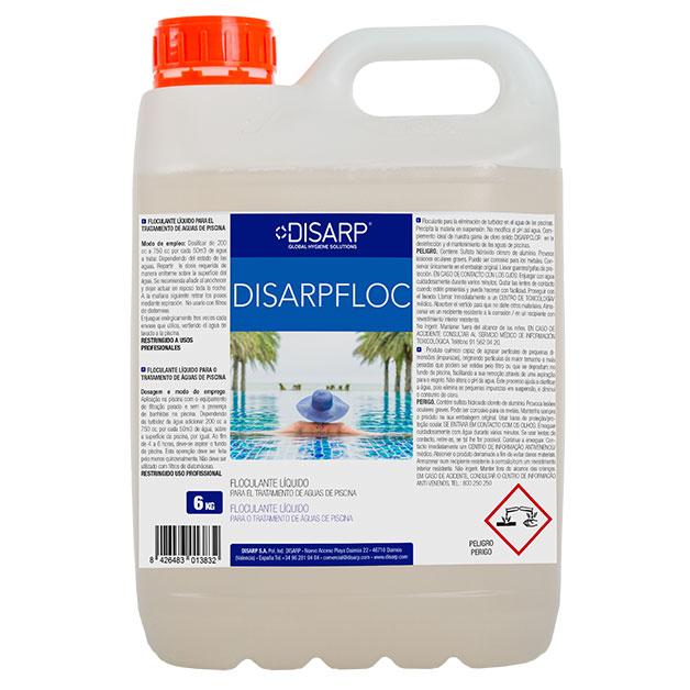 Floculante clarificante piscinas Disarpfloc de DISARP