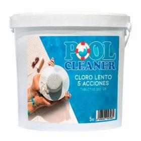 Cloro lento 5 acciones tableta 200gr Pool Cleaner