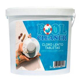 Cloro lento tabletas 200gr Pool Cleaner