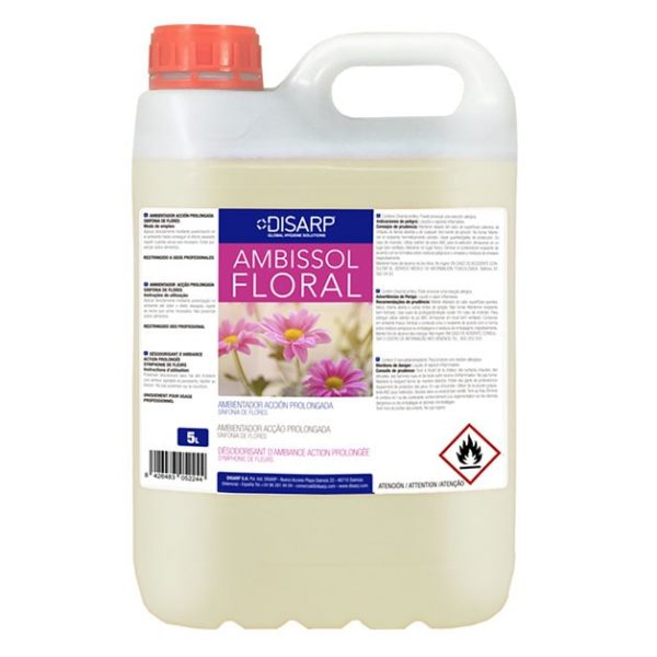 ambientador ambissol floral 5l disarp