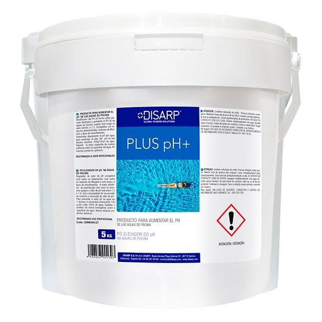 Incrementador pH piscinas pH Plus de DISARP