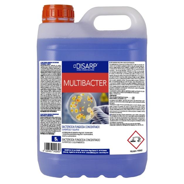 Bactericida fungicida concentrado Multibacter de DISARP