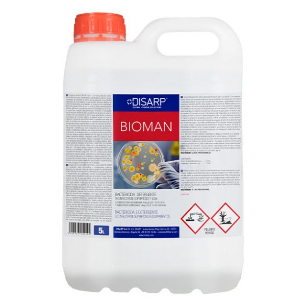 detergente bactericida bioman 5l disarp