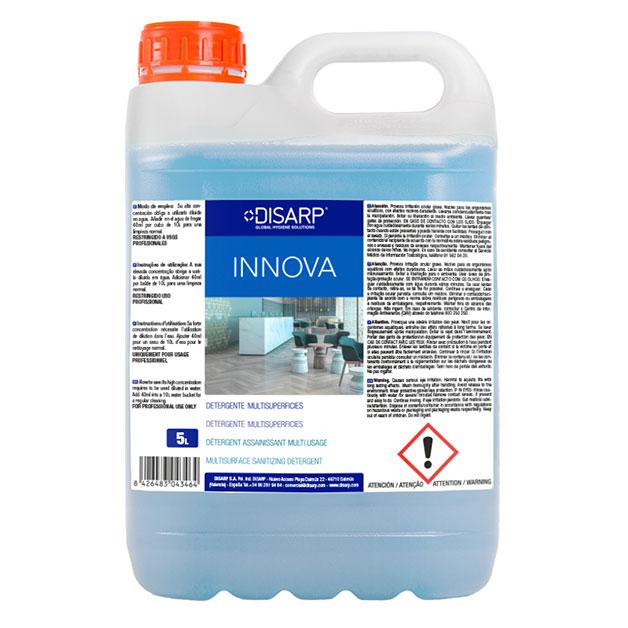 Limpiador detergente Innova de DISARP