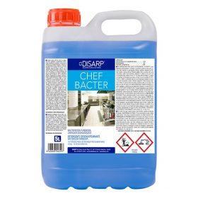 Detergente bactericida Chef Bacter de DISARP