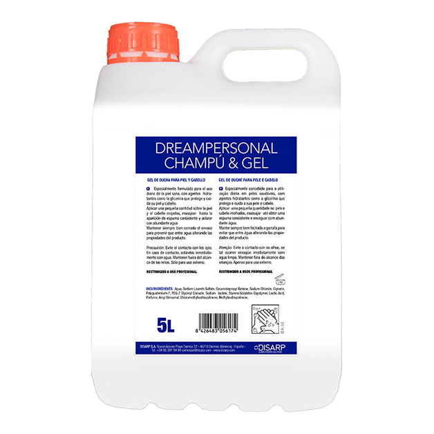 Champú y gel Dreampersonal de DISARP