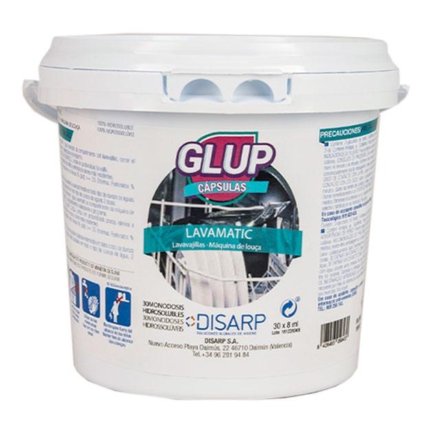 Glup – lavavajillas lavamatic en capsulas de DISARP