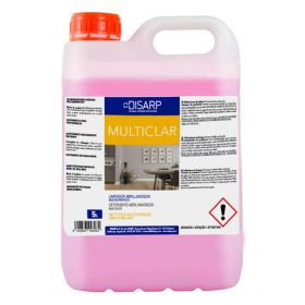Limpiador abrillantador multiusos Multiclar de DISARP