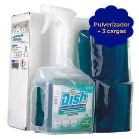 limpiador perfumado saniter ecoz pulverizador dishome