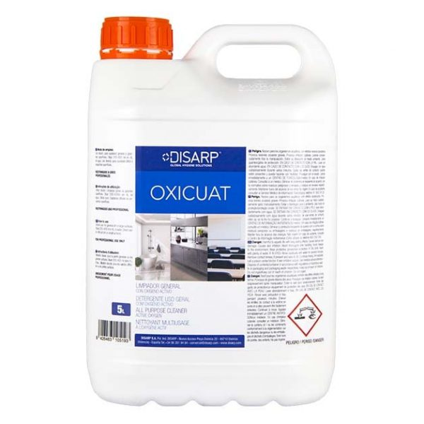limpiador superficies oxigeno activo oxicuat 5l disarp