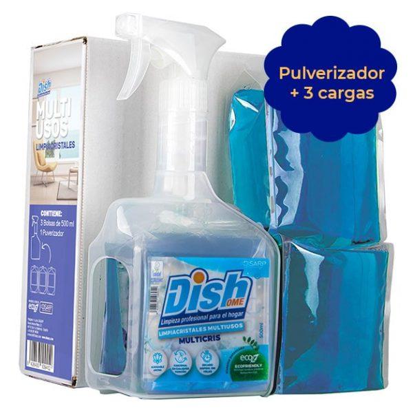 multiusos limpiacristales ecoz pulverizador dishome